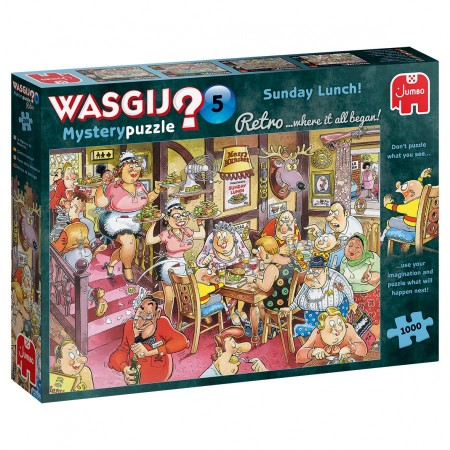 1000 Wasgij Mysterypuzzle 05. Sunday Lunch