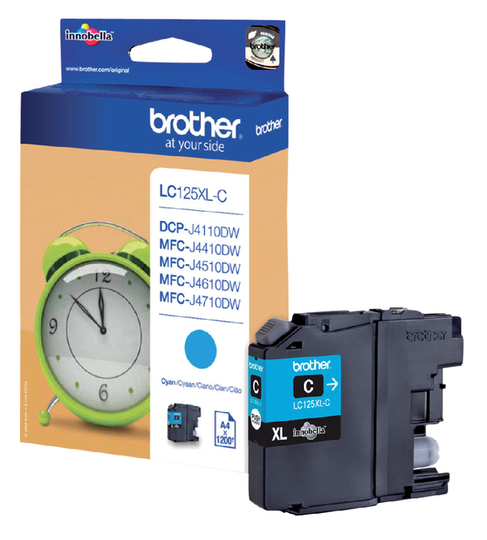 Brother LC-125XLC blauw