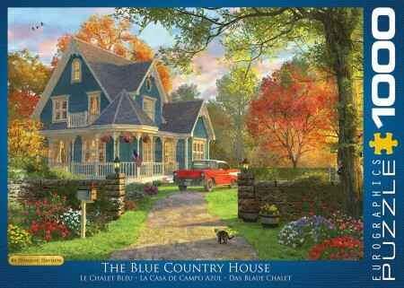1000 Eurographics - The Blue Country House
