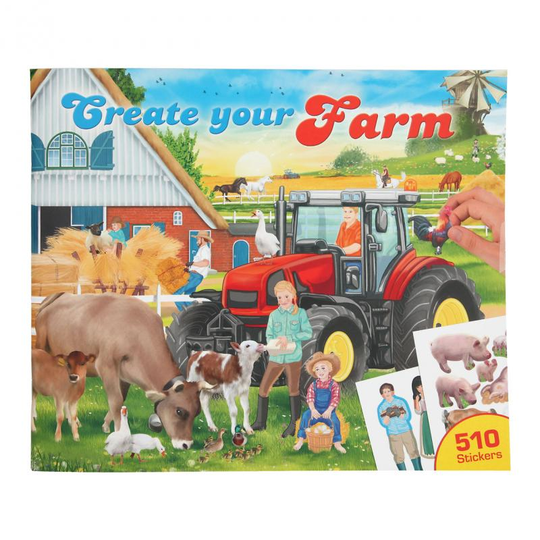 11585 - Create your Farm drawing book