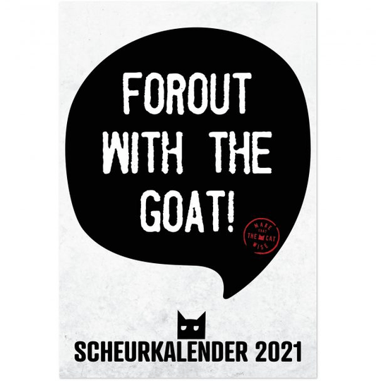 Make That The Cat Wise Scheurkalender 2021