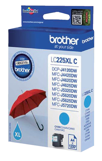 Brother LC-225XLC blauw