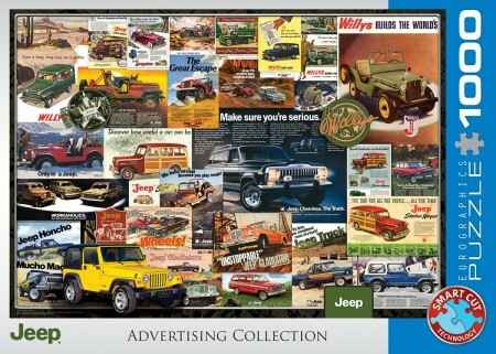 1000 Eurographics - Jeep Advertising Collection