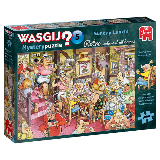 1000 Wasgij Mysterypuzzle 05. Sunday Lunch!