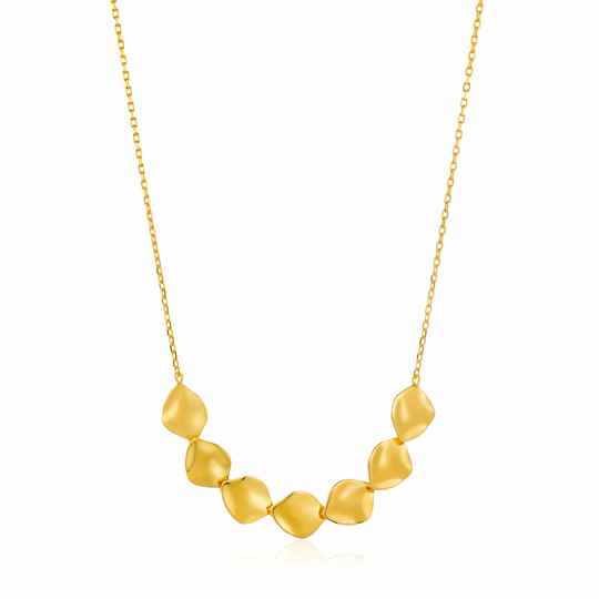 Ania Haie Zilver/verguld collier N017-04G