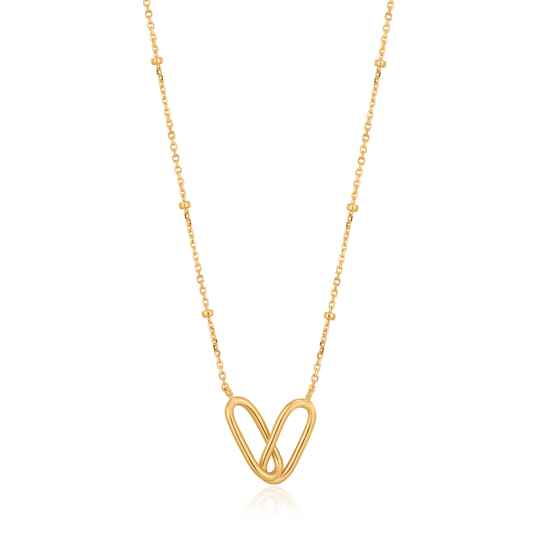 Ania Haie Zilver/verguld collier N021-01G
