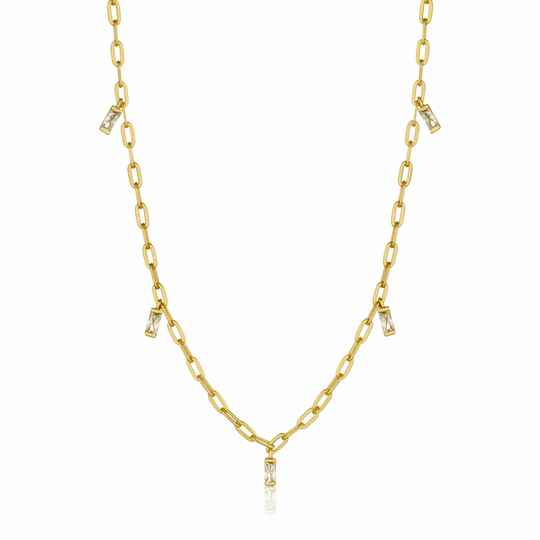 Ania Haie Zilver/verguld collier N018-02G