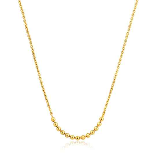 Ania Haie Zilver/verguld collier N002-04G