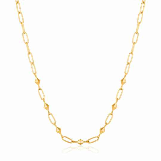 Ania Haie Zilver/verguld collier N025-03G