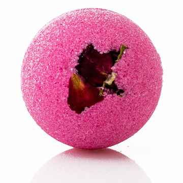 Funky Bath Bomb - Red Rose.