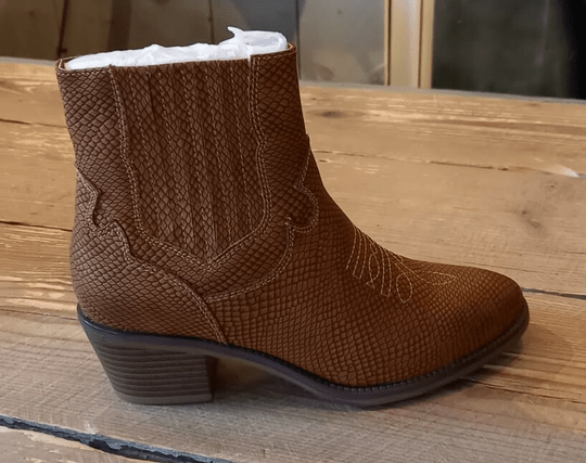 Fabs Western Boots Camel