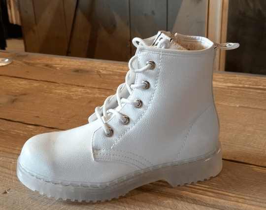 Fabs Boots White