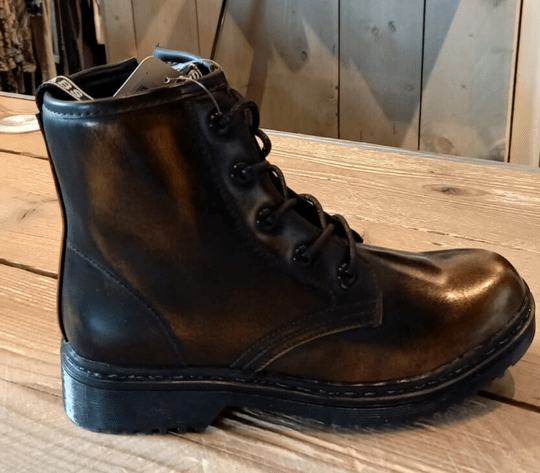 Fabs Boots Metalic Brown