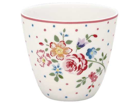 Latte cup Belle white - GreenGate