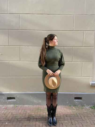 Taille coldress green