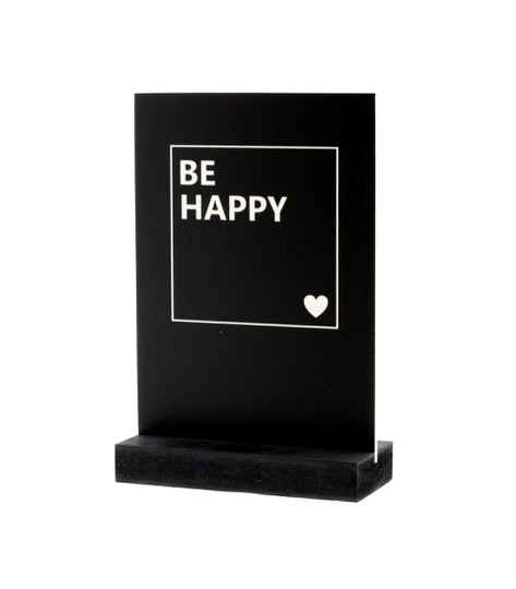 Connect - Deco plaatje - 23 - Be Happy