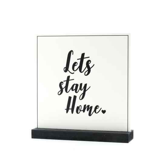 Together - Deco plaatje - 13 - Let's stay Home