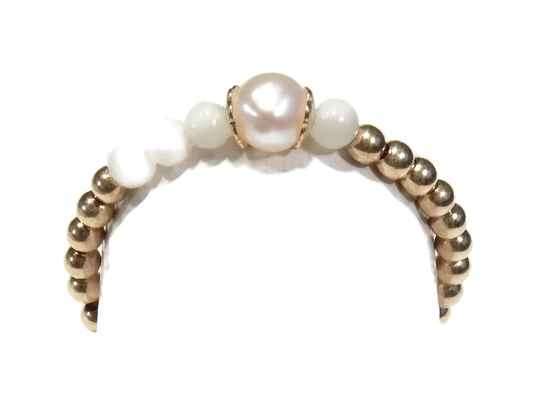 2 mm flexring white pearl & mother of pearl RF1240