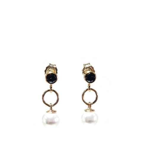 earrings Luc white pearl EL1351 (temporarily unavailable)