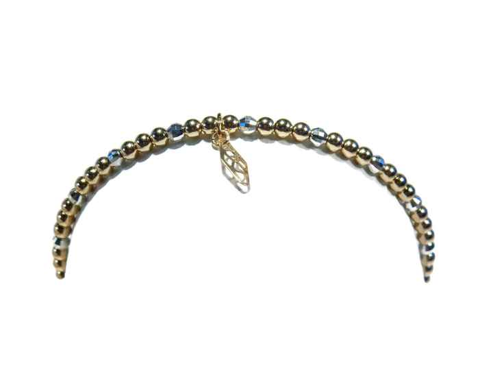 flexbracelet 3 mm with sparkling silver accents BF1427
