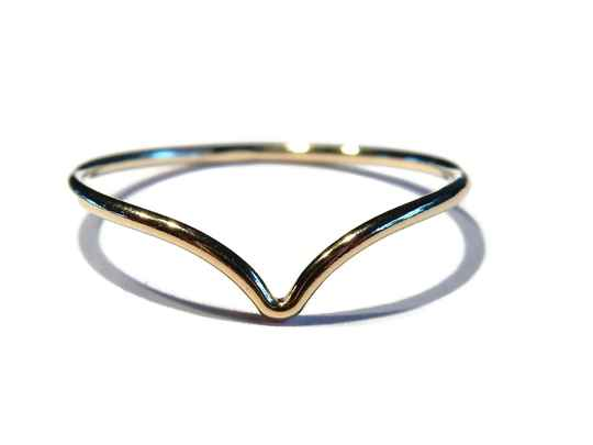 stackring 1 mm V-shape RSG12