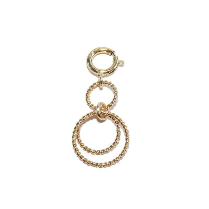 clasp twisted rings CC1497
