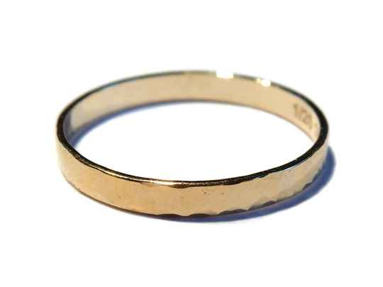 stackring 2,25 mm hammered RSG4