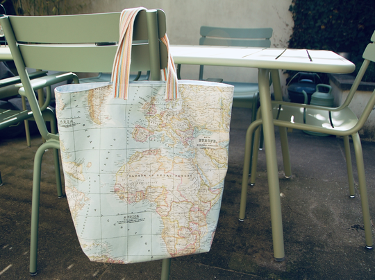 All around the world in one bag ✈