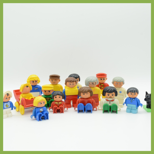 Grote familie (oude Duplo)