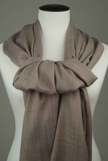 Olida Pashmina Cashmere Sjaal Licht Taupe | 70 x 200 cm
