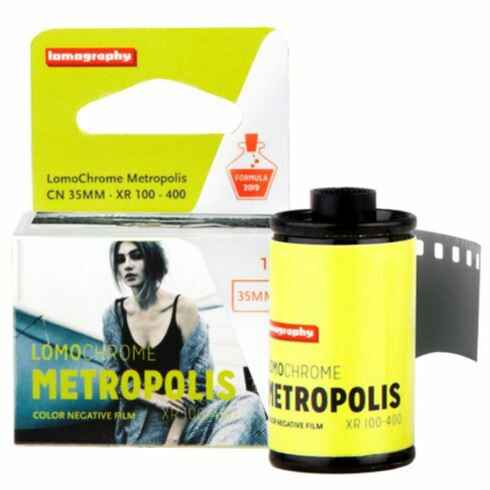 Lomography LomoChrome Metropolis 35mm filmrol 2019-1 film