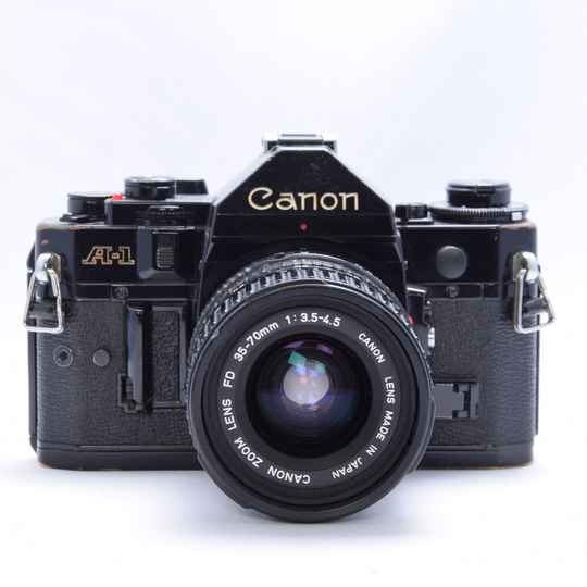 Canon A1 + 35-70mm zoom