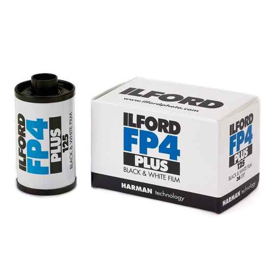 Ilford FP4 PLUS 125  135-36