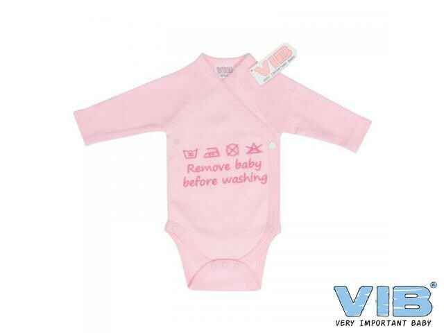 Romper Remove Baby Before Washing Roze