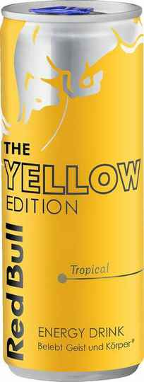 RED BULL Energy Drink Yellow Edition Tropical 0,25l