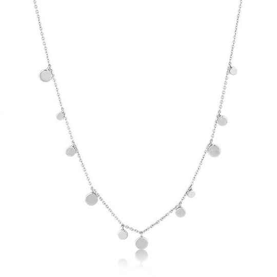Ania Haie Geometry Mixed Discs Necklace AH N005-01H