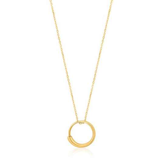 Ania Haie Luxe Circle Necklace AH N024-01G