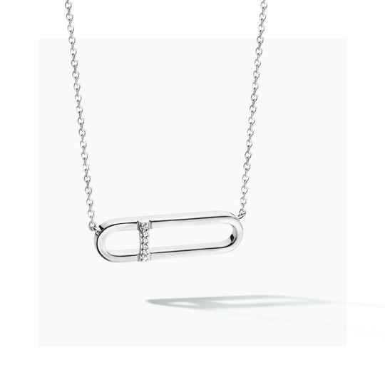FJF Collier New Icon Silver/White FJF0010010SWH
