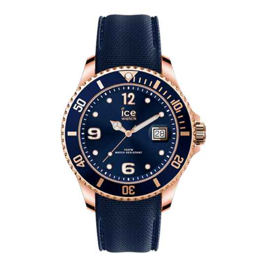 Ice Watch Steel Blue Rose Gold Large IW017655