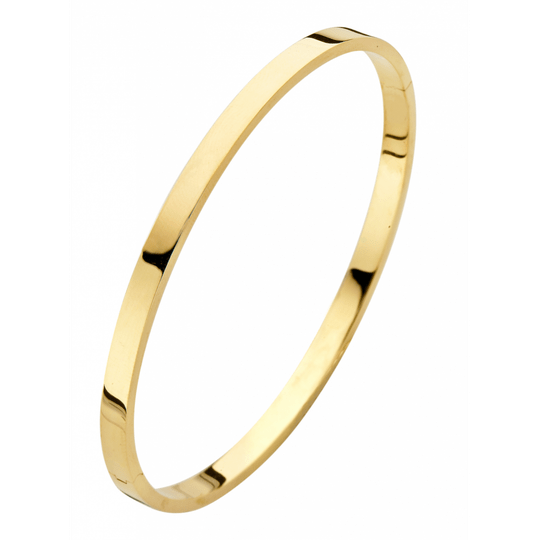 Fjory Armband Geelgoud Vierkant 4mm 40-A38XX04