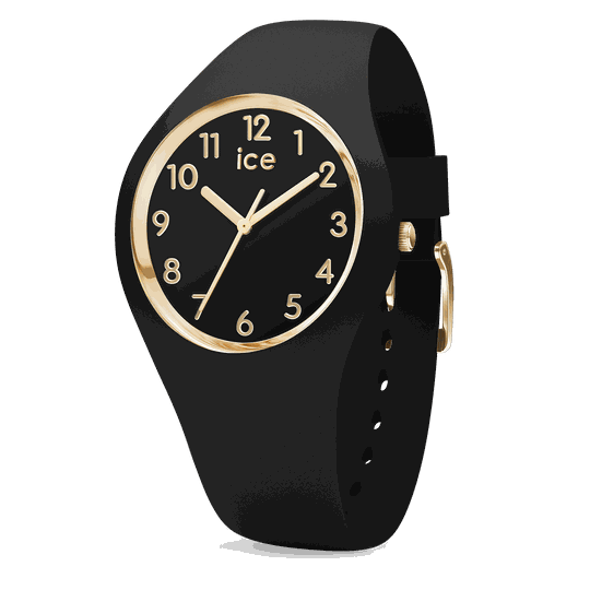 Ice Watch Glam Black Gold Numbers Small IW015338
