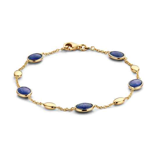 Excellent Armband Geelgoud Edelsteen AW136973