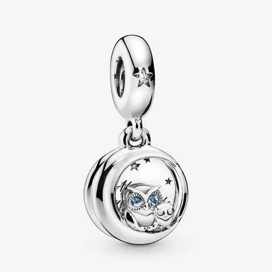 Pandora Dangles Always by Your Side Owl 798398NBCB