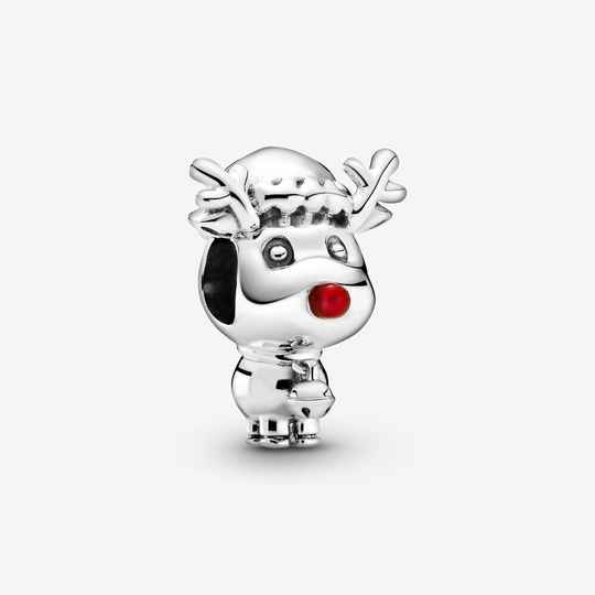 Pandora Rudolph the red nosed Reindeer 799208C01 sale