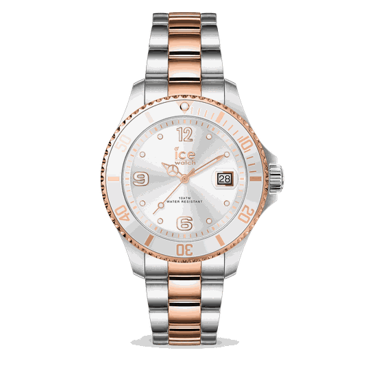 Ice Watch Steel Silver Rose Gold Small IW017322