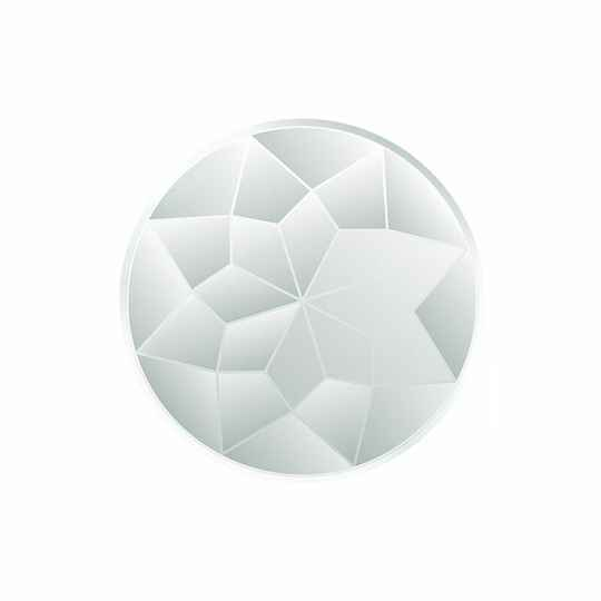 MY iMenso Insignia Gefaceteerd glas 33mm 331138