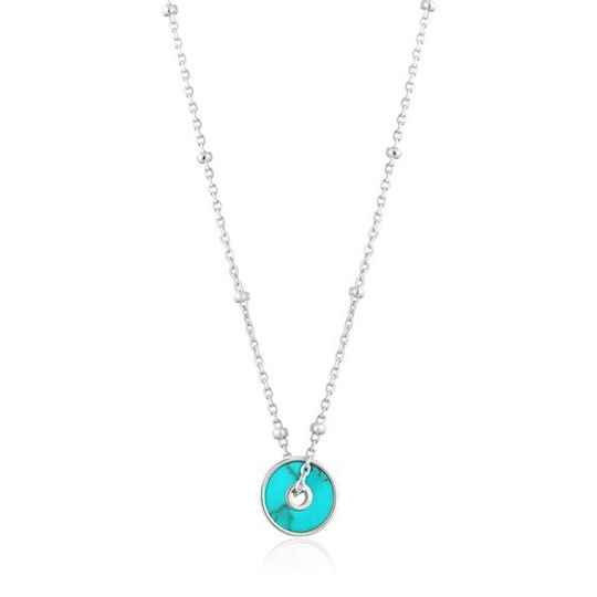 Ania Haie Turquoise Disc - Necklace AH N022-01H
