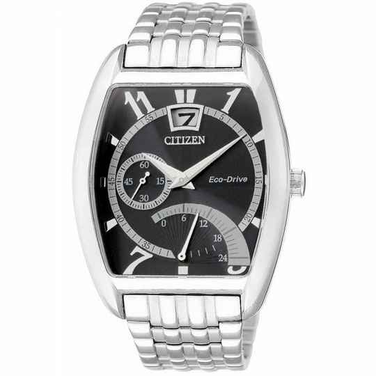 Citizen Heren Eco-Drive Staal BR0040-55E