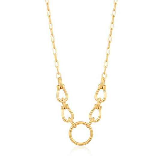 Ania Haie Horseshoe Link - Necklace AH N021-04G