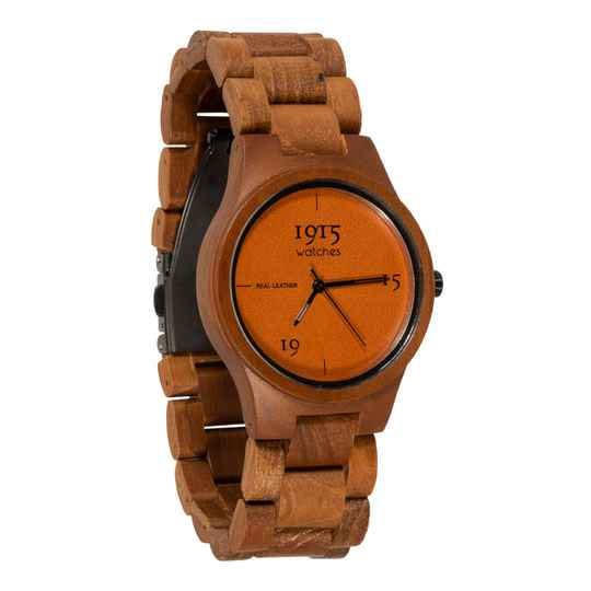 1915 watch lady real leather cognac FC04-1